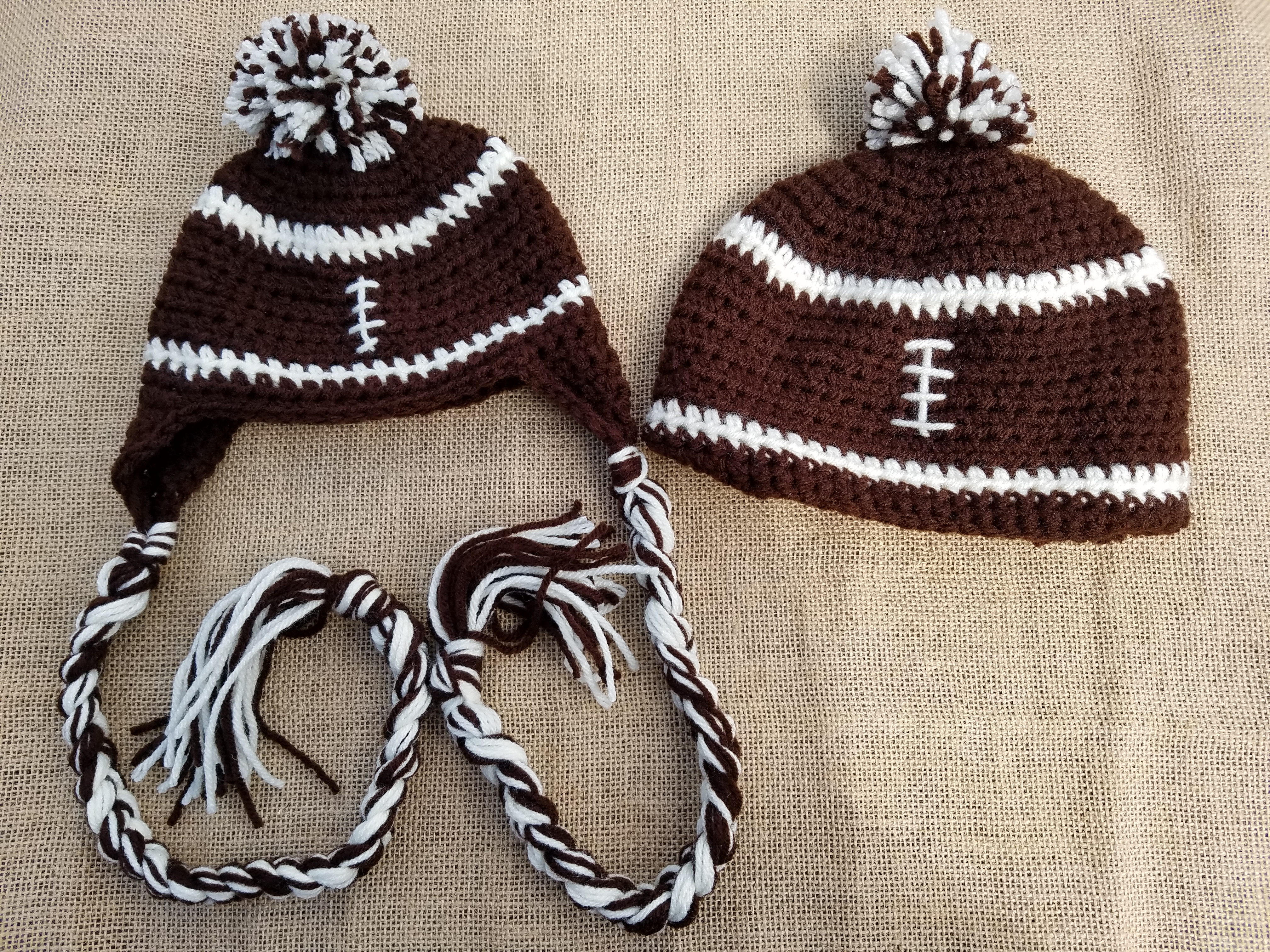 Crochet Football Hat Pattern To Craft A Home