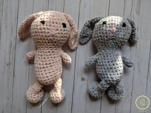 Velvet Bunny Amigurumi Free Crochet Pattern - Crochet For You | 225x300